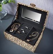 Animal Print Jewellery Box