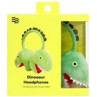 Byte Plush Dinosaur Headphones