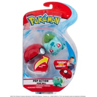 Pokemon Pop Action Pokeball - Bulbasaur
