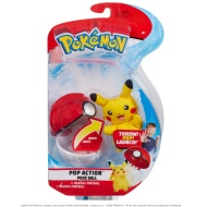 Pokemon Pop Action Pokeball - Pikachu
