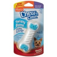 Hartz Chew 'n Clean Tuff Bone Toy - Blue