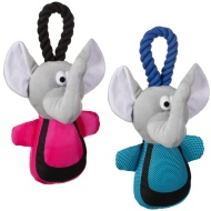 Tough Stuff Elephant Dog Toy