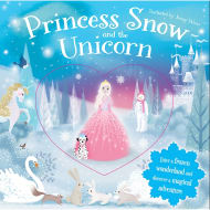 Glitter Globes Book - Princess Snow & the Unicorn