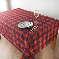 Tartan Wipe Clean Tablecloth 132 x 230cm