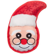 Festive Face Dog Toy - Santa