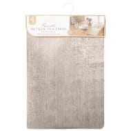 Karina Bailey Reversible Metallic Placemats 4pk - Gold