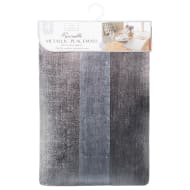 Karina Bailey Reversible Metallic Placemats 4pk - Silver