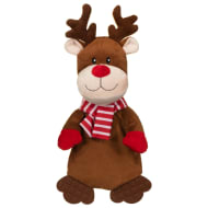 Festive Flattie Dog Toy - Reindeer