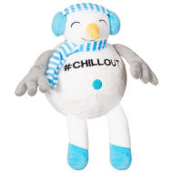 Chubby Chum Dog Toy - Snowman