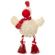 Christmas Giggler Dog Toy - Chicken