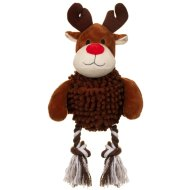 Christmas Giggler Dog Toy - Reindeer