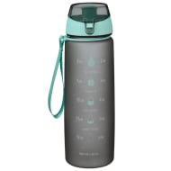 Timings of the Day Water Bottle - Aqua