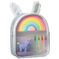 Mini Stationery Filled Backpack - Bunny