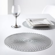 Cut Out Placemats 4pk - Silver