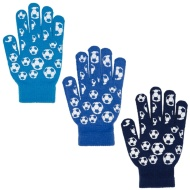 Kids Football Gloves 3pk