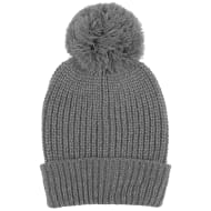 Kids Reflective Bobble Hat - Grey