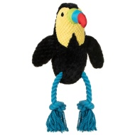 Tropical Bird Dog Toy - Toucan