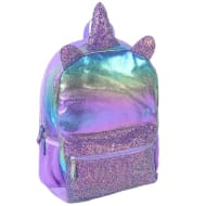 Shine Quilted Backpack - Purple Unicorn