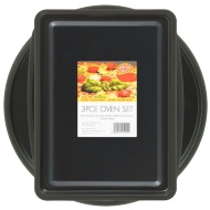 Oven Tray Set 3pc