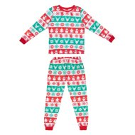 Ladies Fair Isle Christmas Pyjamas