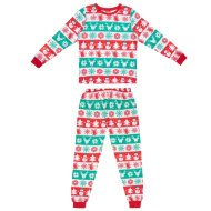 Mens Fair Isle Christmas Pyjamas