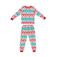 Older Kids Fair Isle Christmas Pyjamas