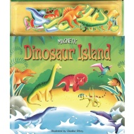 Magnetic Play Book - Dinosaur Island