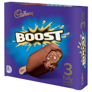 Cadbury Boost Ice Cream Sticks 3pk