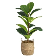 Real Touch Fiddle Fig Plant