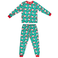 Mens Green Christmas Pyjamas