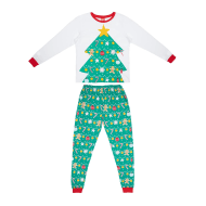 Ladies Christmas Tree Pyjamas