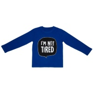 Younger Kids Cotton Pyjamas - I'm Not Tired