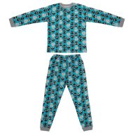 Younger Kids Cotton Pyjamas - Skulls