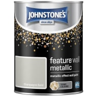 Johnstone's Feature Wall Metallic Paint 1.25L - Champagne Gold
