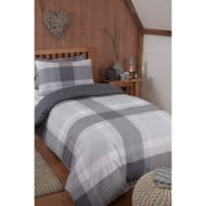 Tara Single Duvet Set - Grey