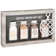 Coffee Topper Gift Set 4pk