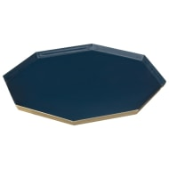 Blue Octagon Tray