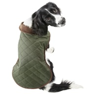 Quilted Dog Coat - Medium - X-Large - Green