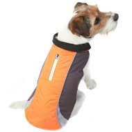 Reflective Dog Coat - X-Small - Small - Orange