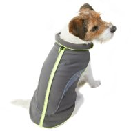 Reflective Dog Coat - X-Small - Small - Yellow