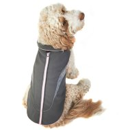 Reflective Dog Coat - Medium - X-Large - Pink