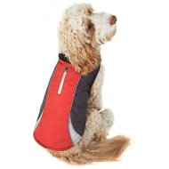 Reflective Dog Coat - Medium - X-Large - Red