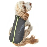 Reflective Dog Coat - Medium - X-Large - Yellow