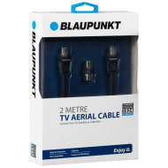 Blaupunkt Coax TV Aerial Cable 2m