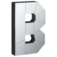 Mirrored Letter - B