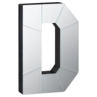 Mirrored Letter - D