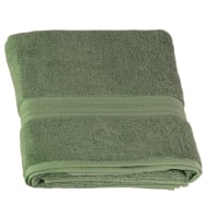 Signature Zero Twist Bath Sheet - Green
