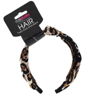 Style Studio Twist Knot Alice Band - Leopard Print