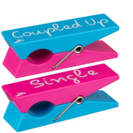 Logo Peg Beach Towel Clips 2pk - Single/Coupled Up
