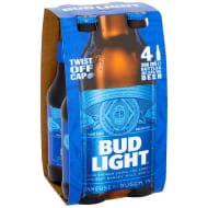 Bud Light Lager 4 x 300ml
